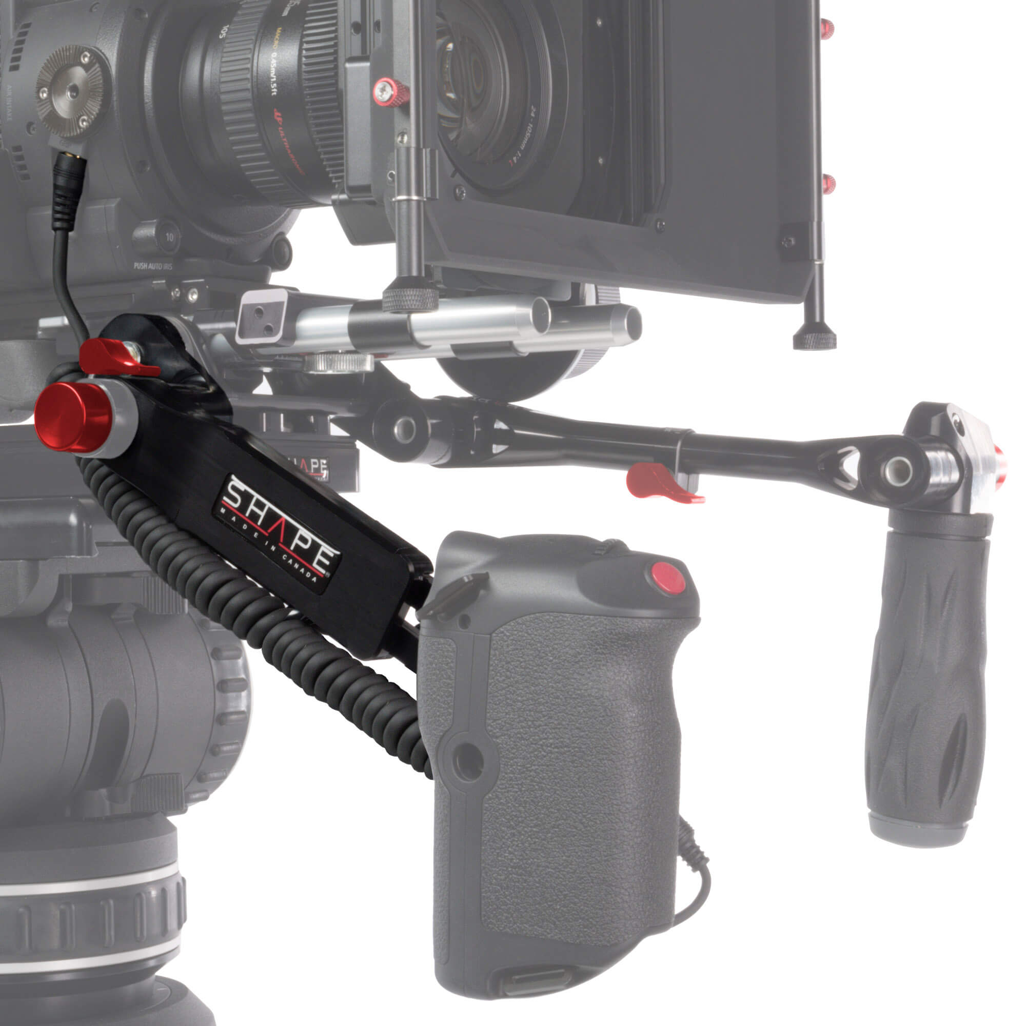 Canon C200 remote extension handle with cable - SHAPE
