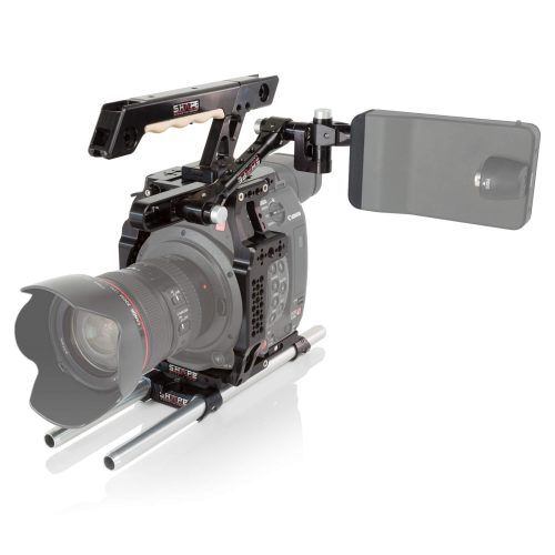 Canon C200 cage handle EVF mount