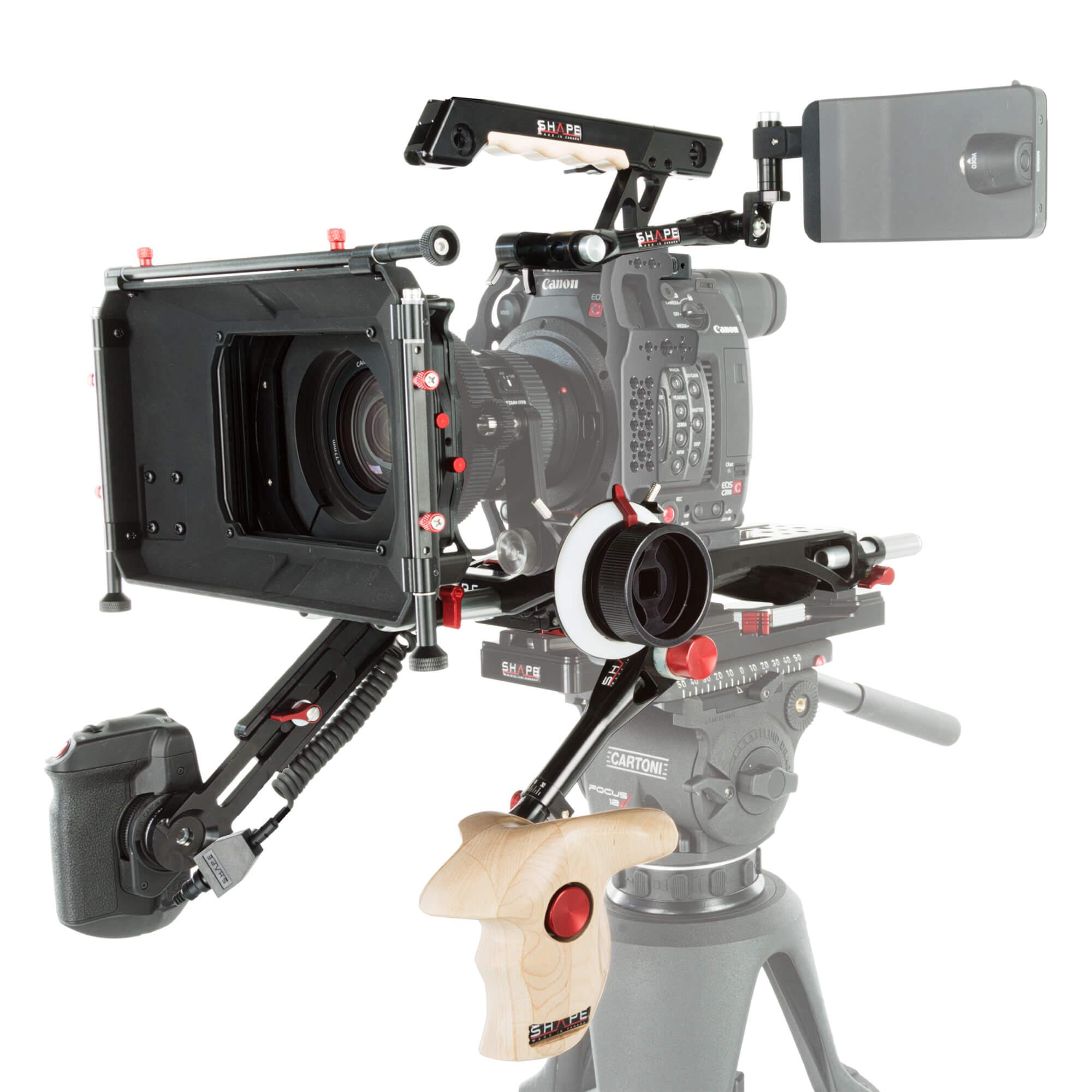 Canon C200 baseplate follow focus matte box kit - SHAPE