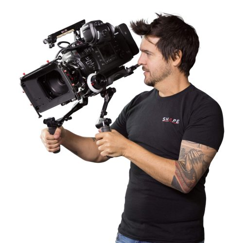 Kit complet avec follow focus pro et matte box pour Canon C700