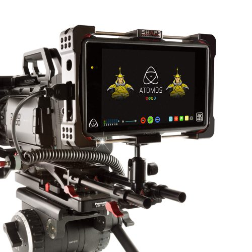 Atomos shogun inferno and flame series cage 15 mm rod bloc ball head