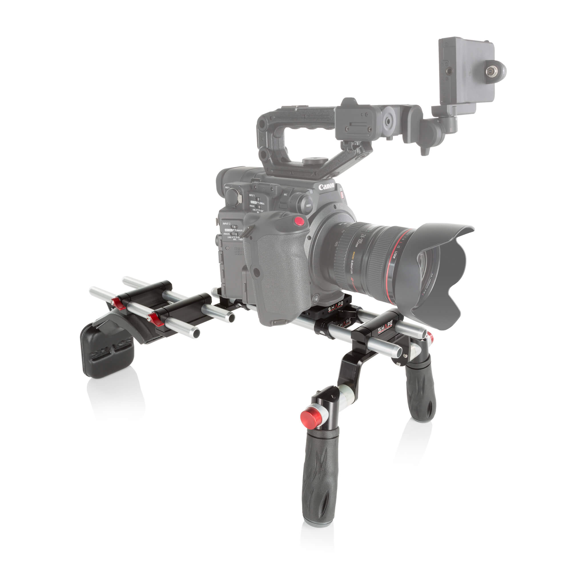 Canon C200 offset rig - SHAPE