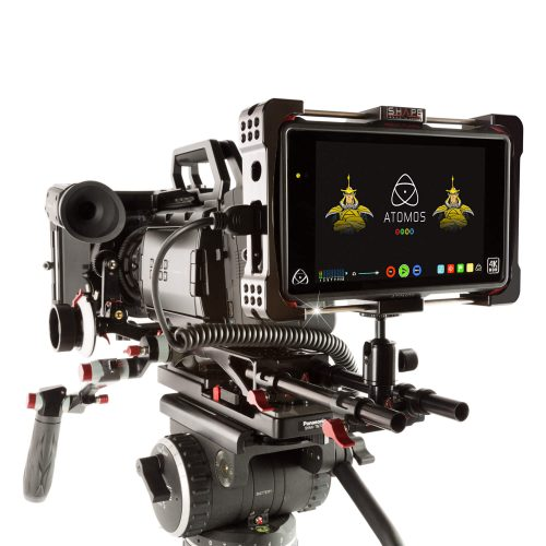 Atomos flame cage 15 mm rod bloc ball head