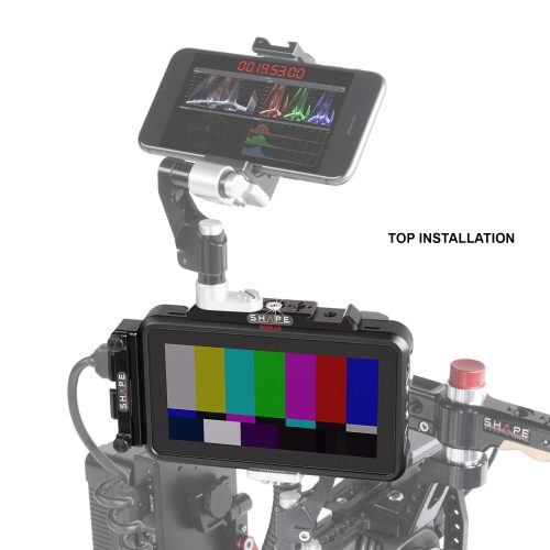 "SHAPE top plate for Atomos ninja v 5"" monitor recorder"