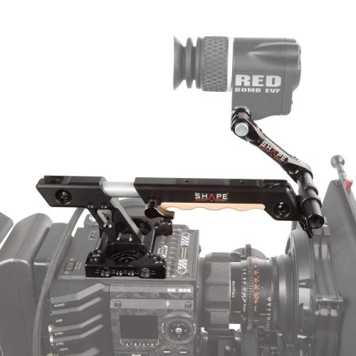 Red DSMC2 top plate extendable handle EVF mount