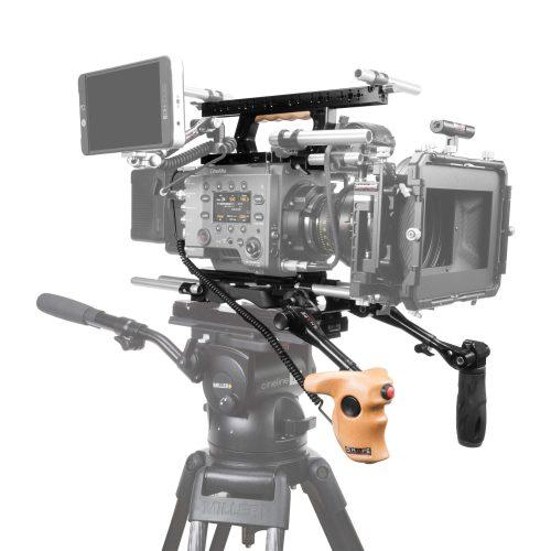 Épaulière, baseplate 15 mm LW avec poignées supérieur, téléscopique et stop & start pour Sony Venice