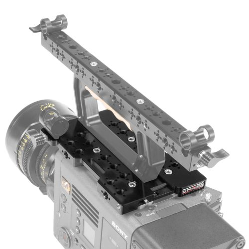 SHAPE top plate for Sony Venice with 15 mm LW front rod clamp