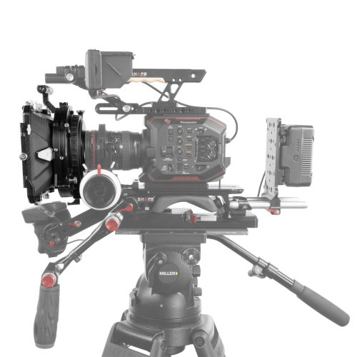 SHAPE 4 x 5.6 carbon fiber swing-away matte box 15 mm/19 mm rod mount