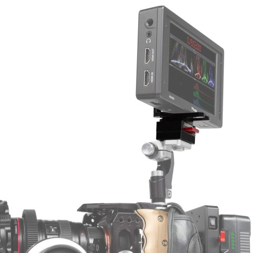 Mini Quick-Release V-Mount und Monitorplatte