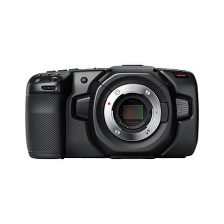 Blackmagic Pocket Cinema Camera 4K and 6K