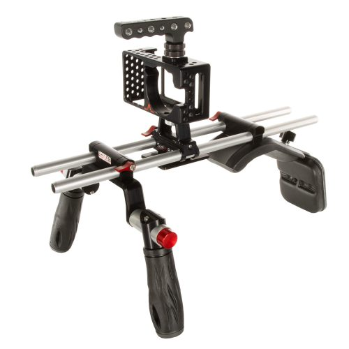 Blackmagic Pocket shoulder mount