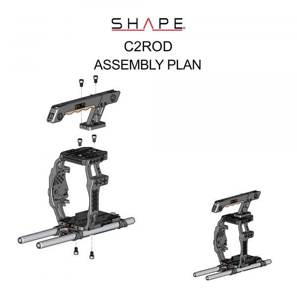 C2rod Shape Assembly Plan