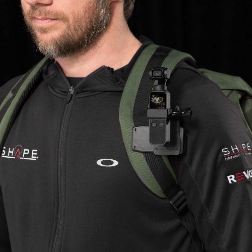 Clip para mochila giratorio en 360 grados para Osmo Pocket