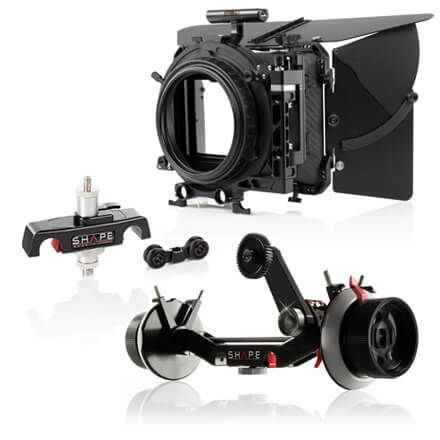 Follow Focus, Matte boxes & Soporte para lentes
