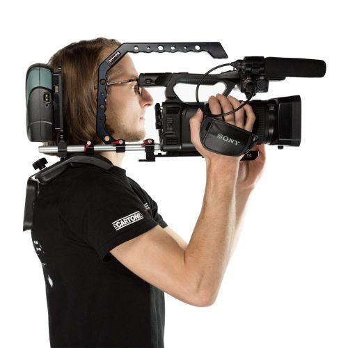 Kit soporte al hombro para videocamara estilo ENG
