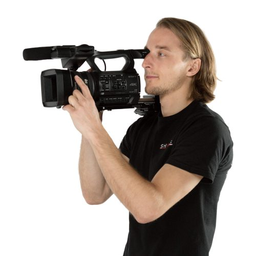 ENG Style camcorder offset rig