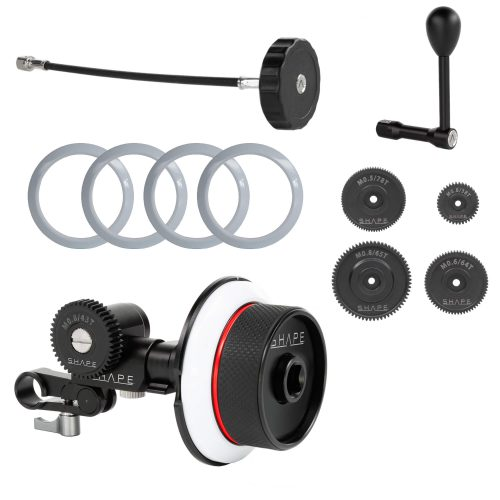 Kit follow focus SHAPE pour rod bloc simple 15 mm LWS