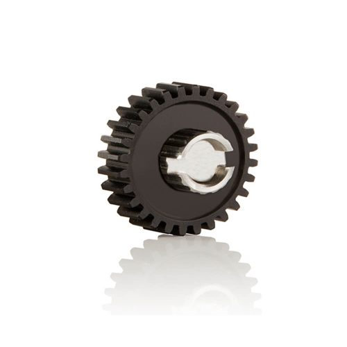 0.8 mm pitch 28 teeth aluminum gear for FFPRO