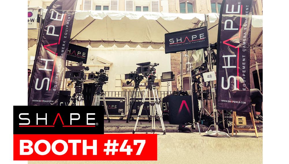 SHAPE Cine Gear Expo