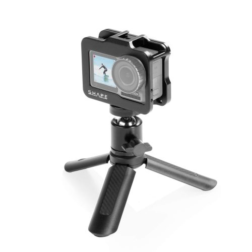 SHAPE cage for DJI Osmo action camera with selfie grip tripod