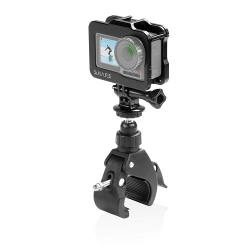 SHAPE cage for DJI Osmo action camera with bike mount clamp