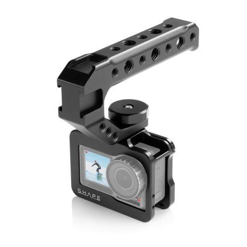 用於大疆靈眸運動相機的 SHAPE 保持架和頂部手柄