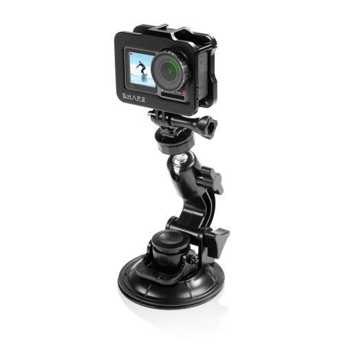 用於大疆靈眸運動相機的 SHAPE 保持架和球頭吸盤支架