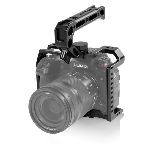 Panasonic Lumix S1R, S1 cage, top handle