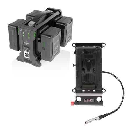 Batteries, plaques, chargeurs & câbles