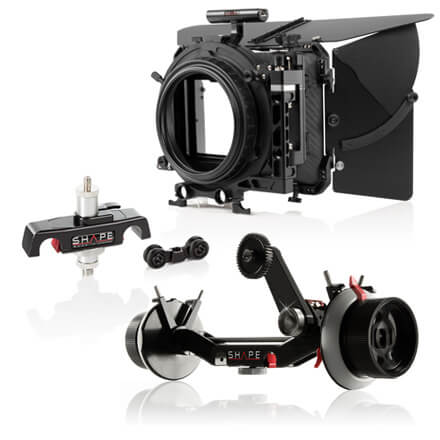 Follow Focus, Matte boxes & supports d'objectif