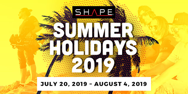 Summer Holiday Shape