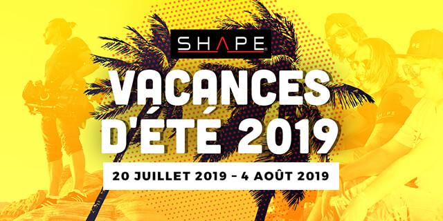 Vacance Ete Shape