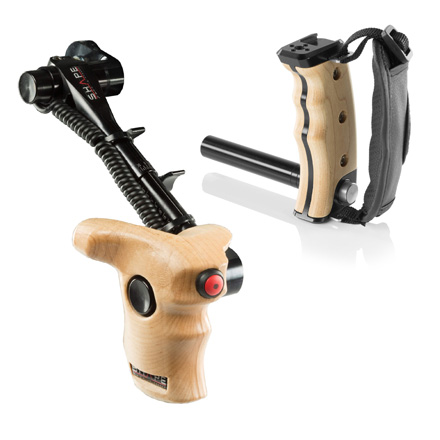 Wooden Camera Handles and Grips