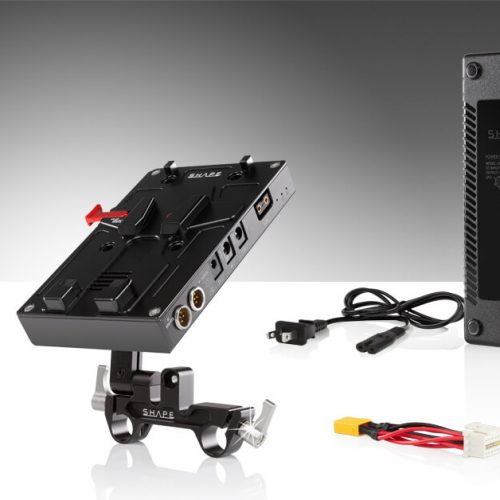 98 WH battery kit d-box camera power and charger for Blackmagic Ursa Mini, Ursa Mini pro