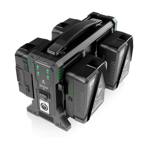 SHAPE FULL PLAY intelligent 4-channel V-mount lithium-ion battery charger