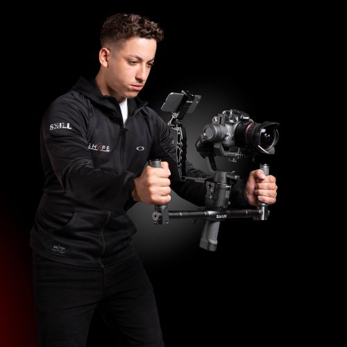 Dual handlebar and handgrip kit for DJI Ronin SC