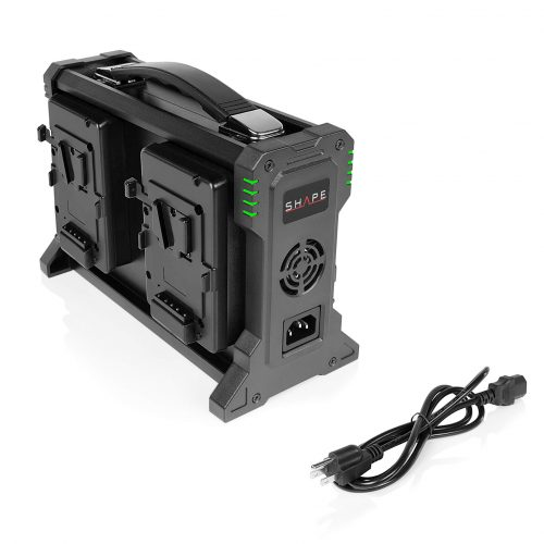 SHAPE FULL PLAY intelligent 4-channel V-mount lithium-ion charger for battery 26 V