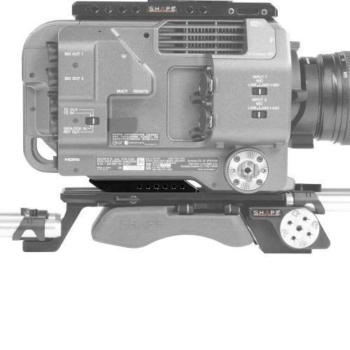 Sony FX9 rear insert plate