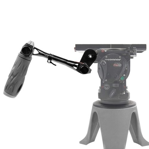 O'Connor tripod pan telescopic handle with push-button