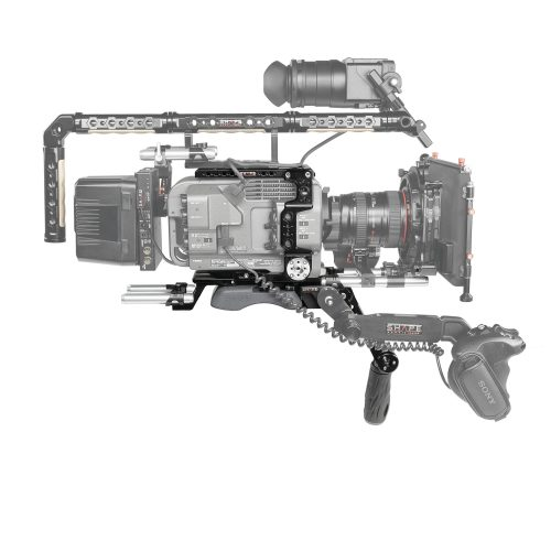 Sony FX9 camera cage baseplate with handle