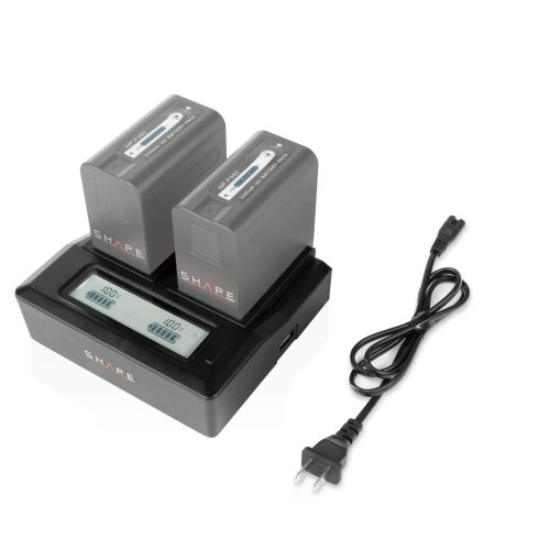 SHAPE NP-F dual LCD charger