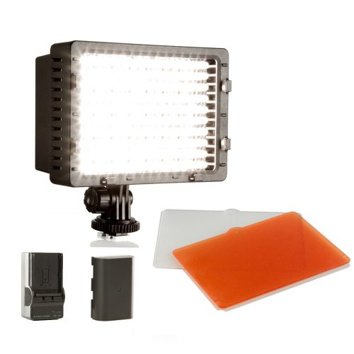 SHILL 160 Led light panel dimmable LPEG Battery with charger kit