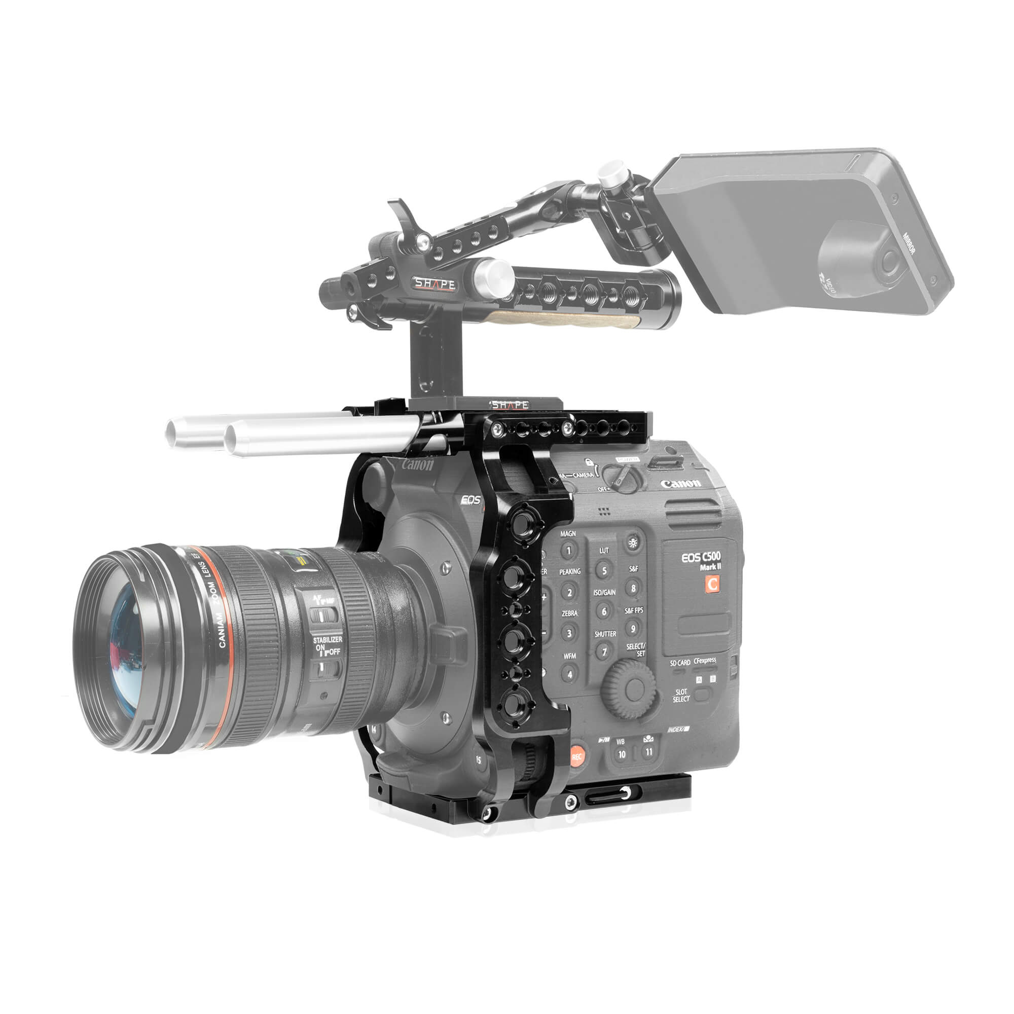 Commlite CS-F1 Video Follow Focus per 5D II//III