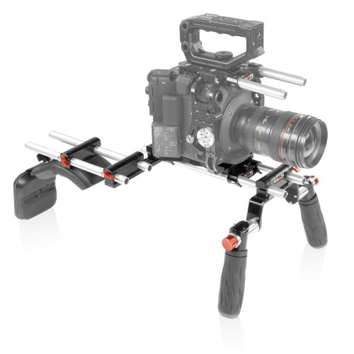 Canon C500 Mark II offset rig