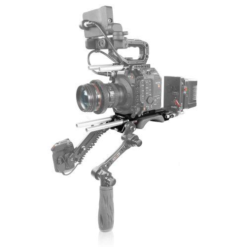Canon C500 Mark II V-lock quick release baseplate