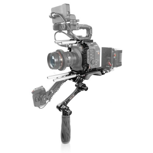 Canon C500 Mark II, C300 Mark III camera cage, baseplate with handle