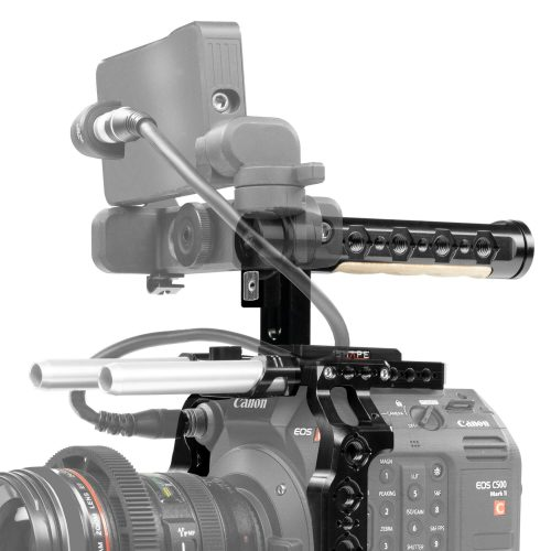 Canon C500 Mark II cage and top handle