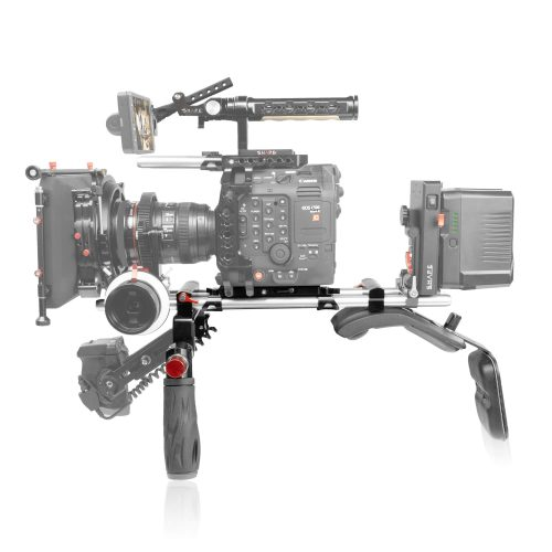 Canon C500 Mark II, C300 Mark III shoulder mount