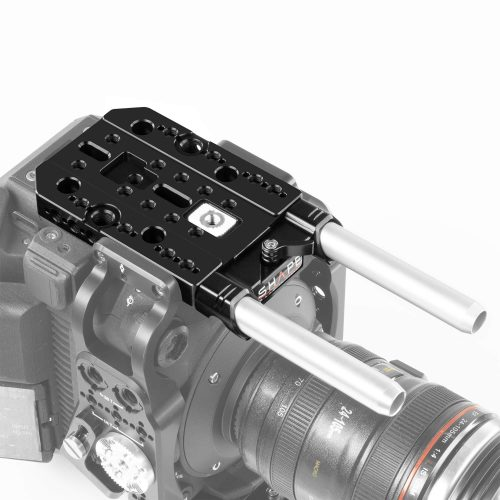 Canon C500 Mark II, C300 Mark III top plate, baseplate with handle