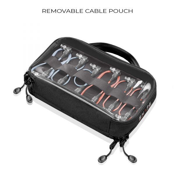 10 Shape Sbag Removable Cable Pouch